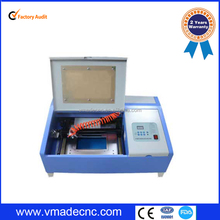 Mini engraved chapter machine/40W Co2 Laser Engraving Machine Price/ Portable mini laser engraving machine 40w