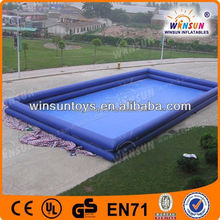 PVC Tarpaulin cartoon inflatable pools