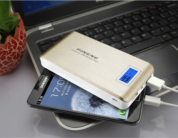 Universal Backup Power usb portable smart 15000mAh restaurant power bank