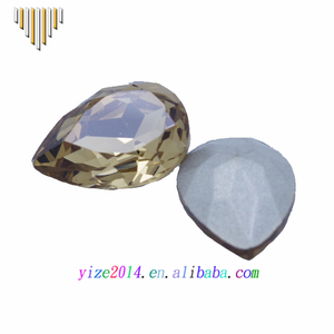 Wholesale K9 Crystal Fancy Stone Drop Beads For Jewelry Making