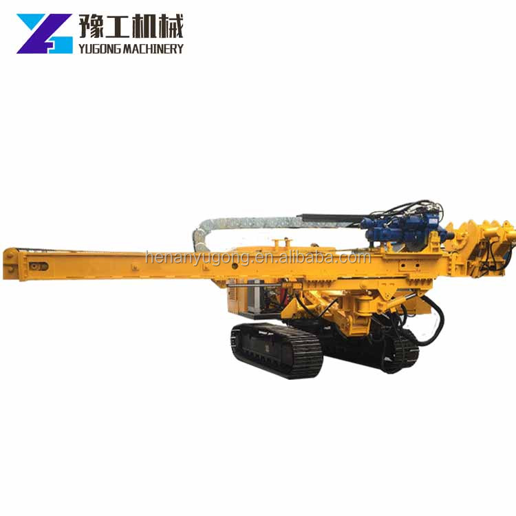 YG 30 m depth surface mining crawler down the hole drill rig