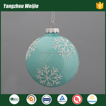 new product blank christmas ball ornament of glass craft