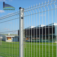 euro panel fence garden fencing Galvanized Nylofor 3D Panel Fence