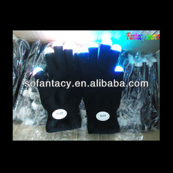 colour changing led light up gloves