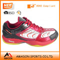 2018 professional badminton shoes indoor sports power cushion ergo shape tennis shoes wholesale OEM factory Ab3208