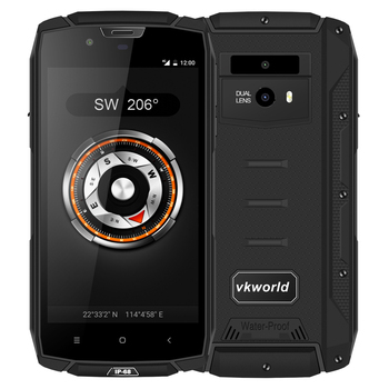 "New Product Waterproof Phone VKWORLD VK7000 5.2"" 5600mah 4+64GB 4G LTE Android Smartphone Rugged IP68 Mobile Phone Waterproof"