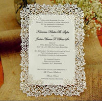 Buy Highly recommended nice cards arabic wedding invitation in ...
