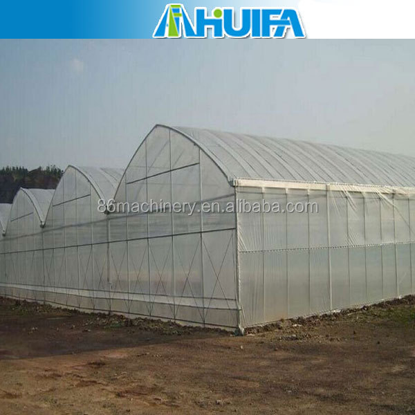 Agricultural farming galvanized steel arch pipe low cost green house