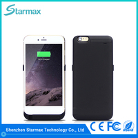 Smooth surface wholesale alibaba power bank battery case for iphone 6 plus