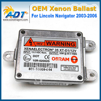 831-10009-044/ 831-10009-041/ 83110009044 Xenon Headlight D1S D3S OEM HID Ballast Ignitor 2003-2006 FOR Lincoln Navigator