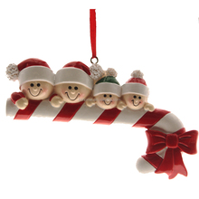 Resin Christmas Crutches Sugar Decoration.Christmas Home Decoration