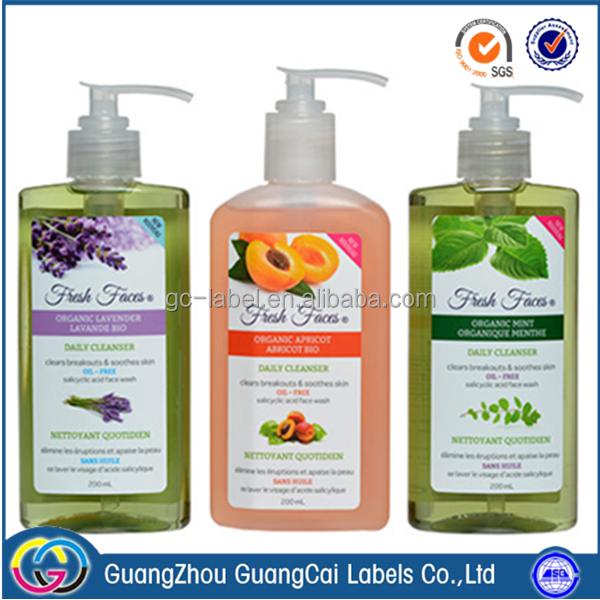 Skin care facial care shower gel