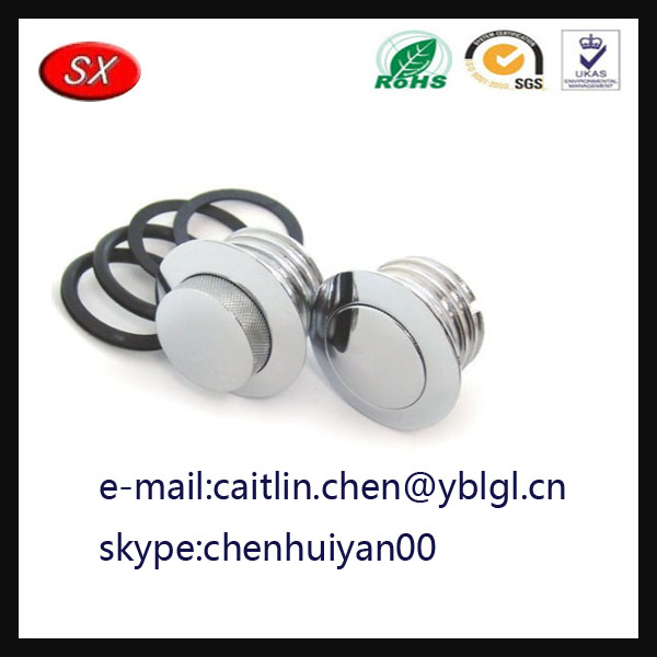 China Manufacturer Black / silver Pop Up Gas Cap Vented For Fuel Tank Gas Fuel Cap