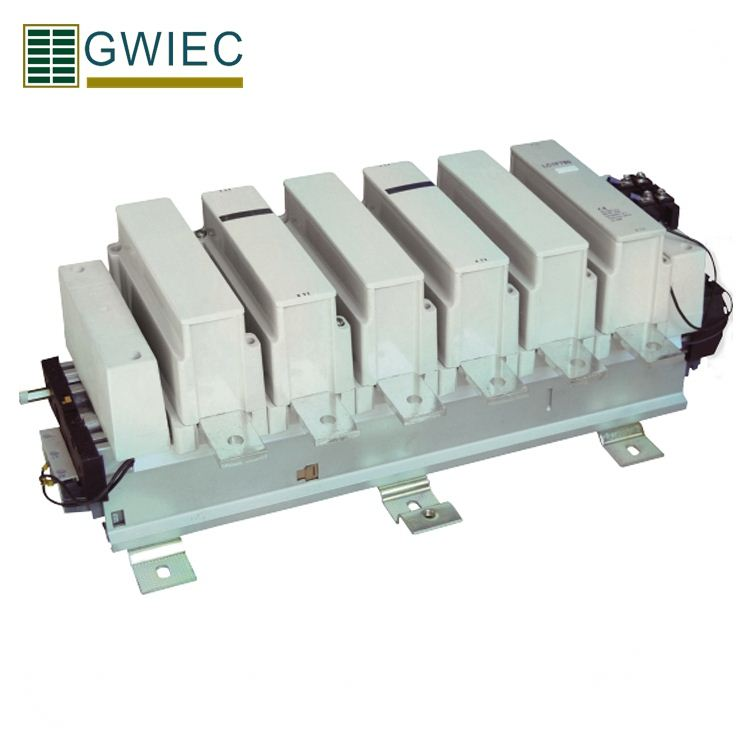 GWIEC High Quality Long Distance Breaking Circuitc Cjx2 3 Phase Ac3 630 Amp AC Contactor