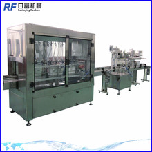 automatic hand cream filling capping labeling machine line