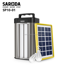 solar engergy system solar power charger outdoor solar lighting kit with charging funtion for outdoor camping use and home use
