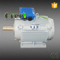 Hydro turbine, 50kw 100rpm hydro generator, low RPM permanent magnet generator for sale