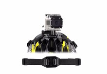 Vented Adjustable Head Adapter Strap Belt Mount Holder Helmet for Sport Go pro HD Hero1 2 3+ 4 Xiaoyi Camera Accessory GP04
