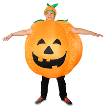 Inflatable Mascot Halloween Inflatable Pumpkin Costume Body Suit Blow Up Costume
