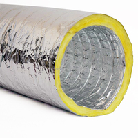 Pre-insulated flexible duct/aluminum flexible duct