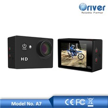 Full HD 720P cheap high quality digital camera action camera A7