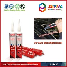 Black Polyurethane adhesive for auto glass and skylight PU8630