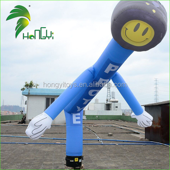 Hongyi Customized Inflatable Dancer , Indoor Inflatable Air Dancer