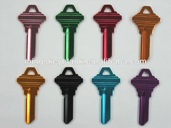 ultra light SC1 colors key blank