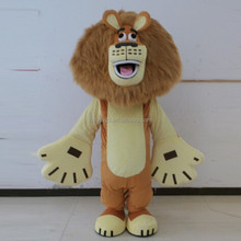 HOLA mascotte animale costume/lion costume pour adultes