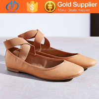 China factory fashionable women flat cheap dance shoes