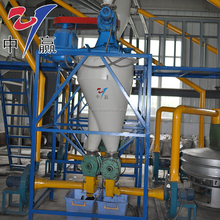 Waste Tire Recycling Machine To Crude Oil And Carbon Black