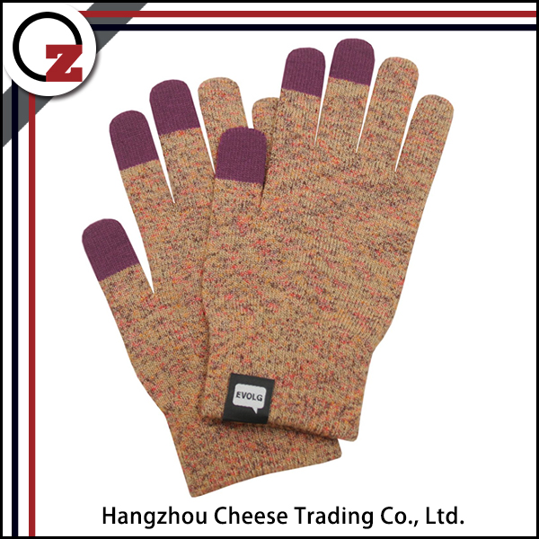 Exquisite smart screen touch gloves for young girl