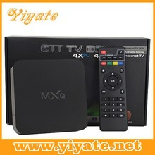 MXQ android tv box amlogic S805 quad core android 4.4 tv box with 1gb ram 8gb rom