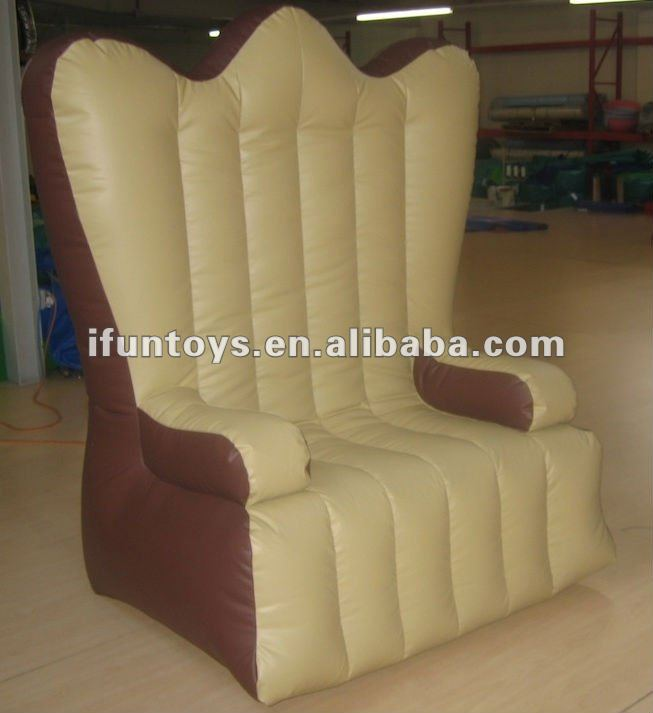 1.0Lx0.9Wx2.0HM inflatable king chair