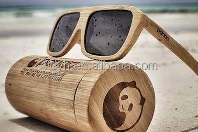 2017 birch wood Material and original birch wood Color bamboo box /sunglass bamboo boxes