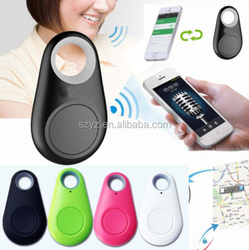 Wireless Bluetooth 4.0 Mini GPS Tracker Keychain Anti Lost Alarm Sensor Smart Tag