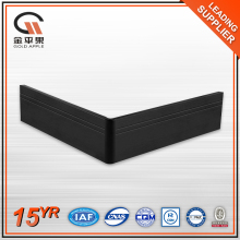 Custom 6063 T5 cabinet aluminum skirting board profile