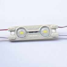 New led product/ DC12V 2-led high brightness SMD 5730 led injection module/factory price 5730 module led with lens