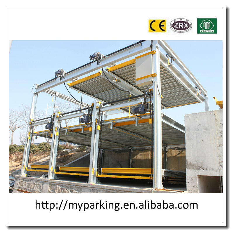 -1+2 Floors (1 Layer Underground and 2 Layers Above Ground) Pit Car Parking System/ Automatic Underground Car Park