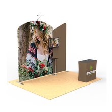 China manufacturer portable aluminum display 10x10 trade show booth