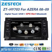 High Quality double din car stereo For Hyundai AZERA 2008 2009 car stereo gps navigation system+Bluetooth/CD/TV/Radio/Aux/mp5,3G