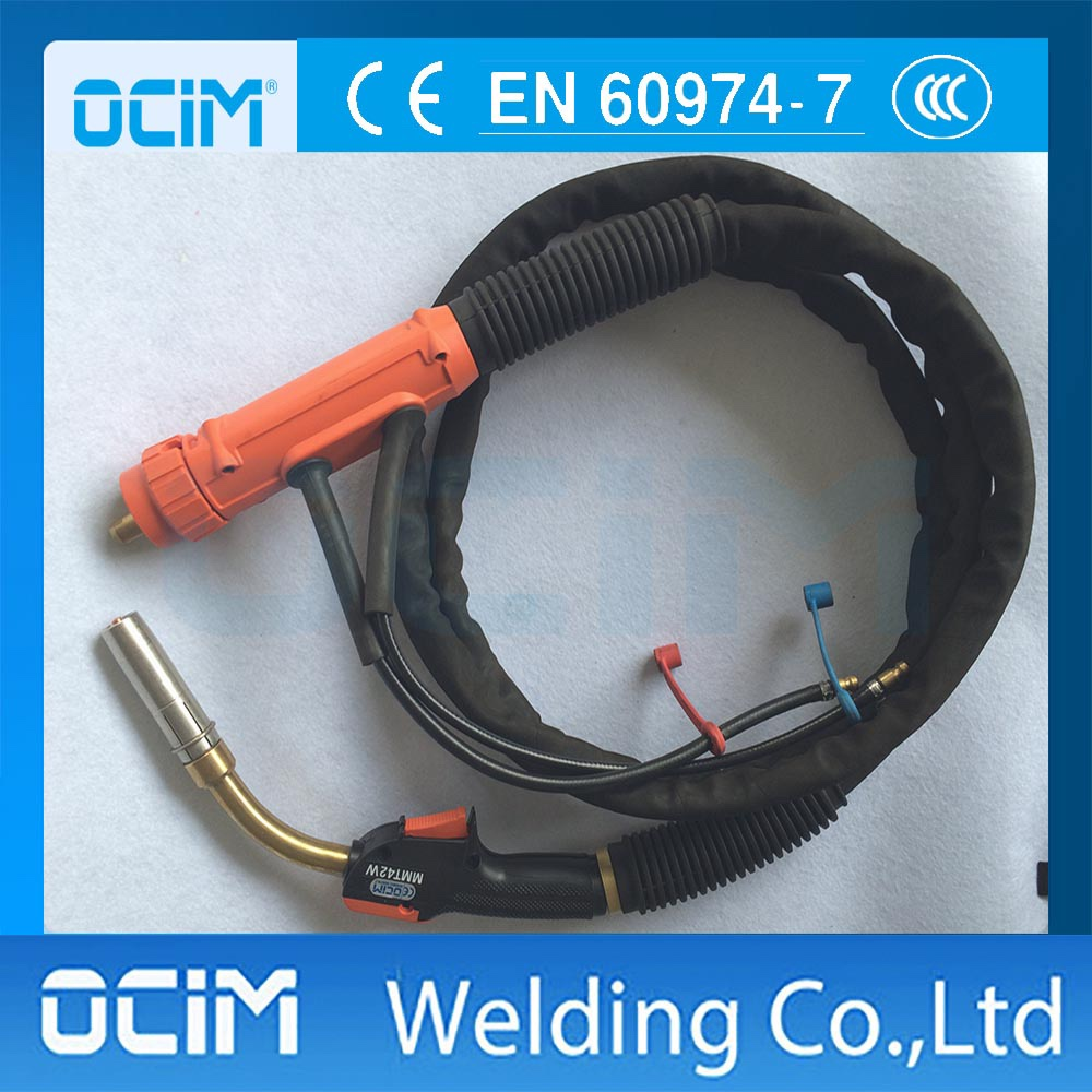MMT42W Welding Torch with Euro Connector
