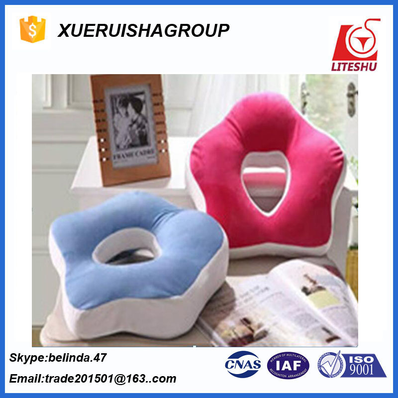 flower shape momery pillow supersoft China supplier