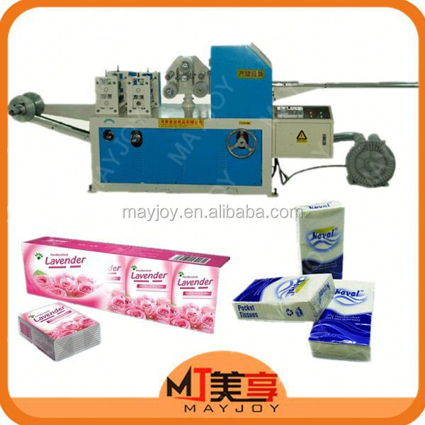 2017 Mayjoy New Technology Pocket Tissue Paper Machine (Skype:mayjoy61)