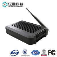 Cable Modem/Router: DOCSIS 3.0 8x4 plus WiFi Router with 4 GigE Ports and 2 USB NAS Ports