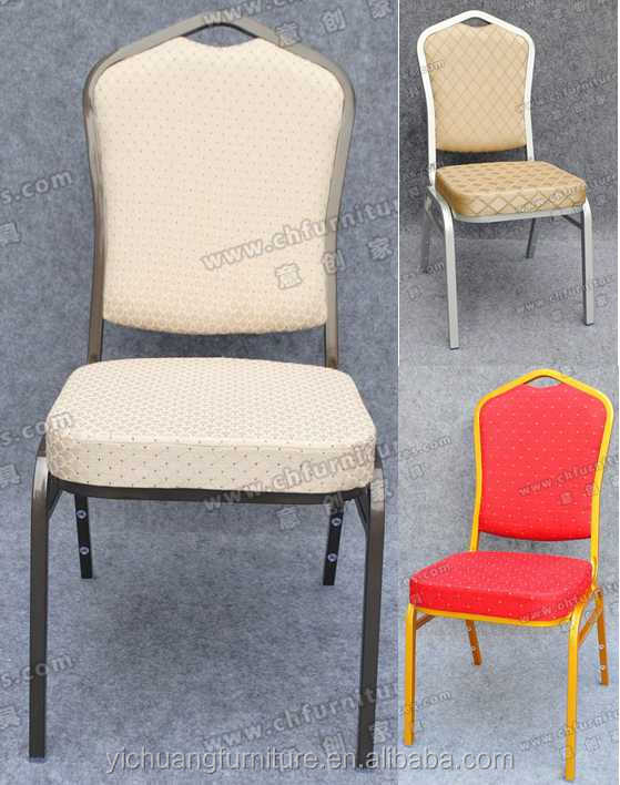 wholesale comfortable & cheap price steel banquet chair YCX-ZG11