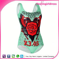 Custom Sublimation One Piece young girls nude monokini bikini