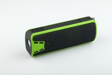 Custom portable colorful ABS waterproof bluetooth speaker flashlight with mobile power bank