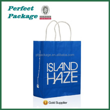 High Quality Custom Logo Printed ,China Factory Paper Bag For Shopping