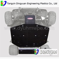 price of UTV UHMWPE plastic skid plates / UHMWPE plate used in UTV